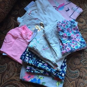 From Carter's 5 pairs of legging 4 tops